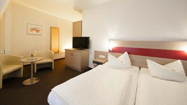 Doppelzimmer im Hotel Gasthof zur Post in Cuxhaven Duhnen