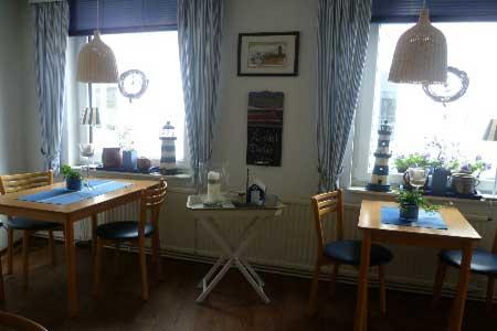 Fruestuecksraum im Hotel und Gaestehaus Weiss