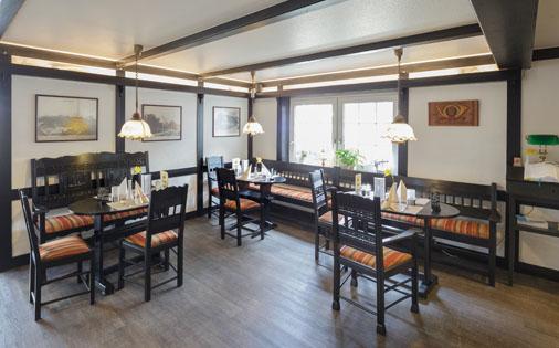 Restausant im Hotel Zur Post in Cuxhaven Duhnen