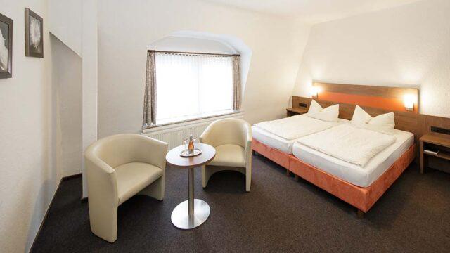 Doppelzimmer im Hotel Gasthof zur Post in Cuxhaven