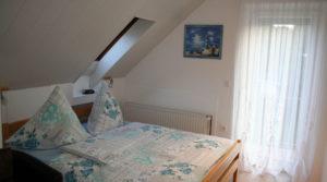 Zimmer mit Doppelbett Haus Erika in Cuxhaven