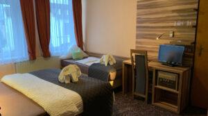Dreibettzimmer im Hotel Seemeile
