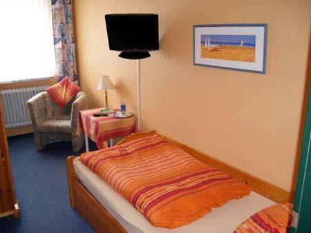 Einzelzimmer in der Pension Blauth