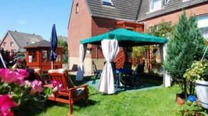 Garten der Pension Blauth