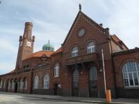 die Hapag Hallen in Cuxhaven