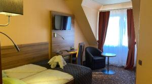 Kleines Doppelzimmer im Hotel Seemeile