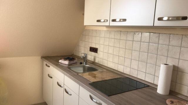 Küche im Studio Appartement im Hotel Seemeile in Cuxhaven