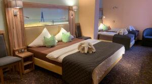 Vierbettzimmer im Hotel Seemeile in Cuxhaven Döse