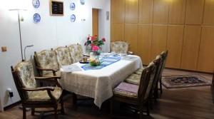 Frühstücksraum im Haus Tanneneck